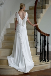 Veromia DZage Wedding Dress D31556 Back