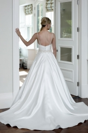 Veromia DZage Wedding Dress D31563 Back