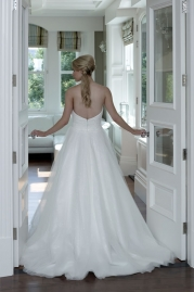 Veromia DZage Wedding Dress D31569 Back