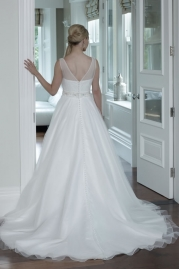 Veromia DZage Wedding Dress D31572 Back