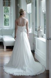 Veromia DZage Wedding Dress D31573 Back