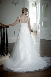 Veromia DZage Wedding Dress D31574 Back