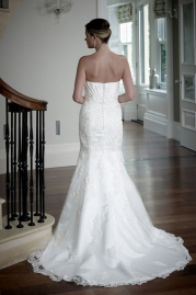 Veromia DZage Wedding Dress D31575 Back