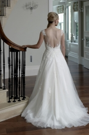 Veromia DZage Wedding Dress DS31576 Back