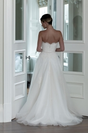Veromia DZage Wedding Dress DS31577 Back