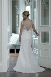 Veromia DZage Wedding Dress DS31578 Back